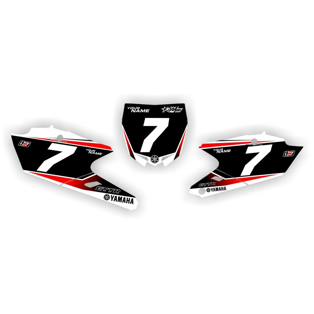 2016 YZF Numbers WHITE