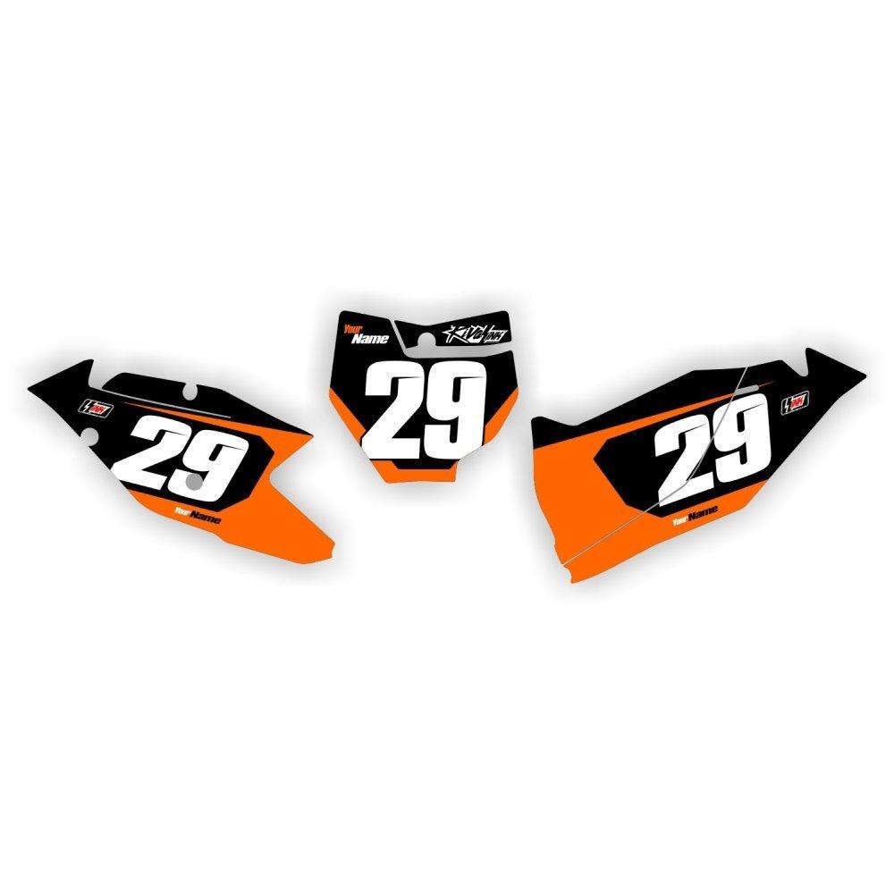 RACER 2016 KTM Number Boards