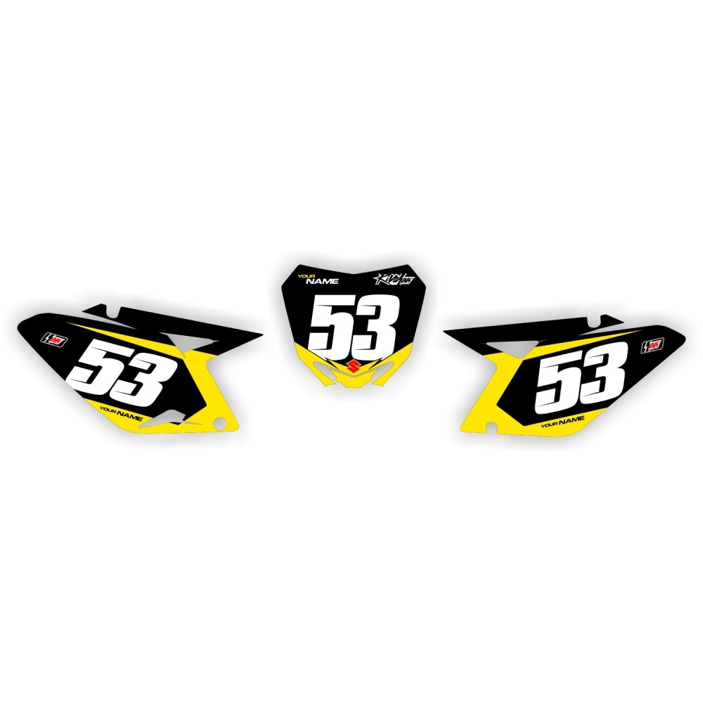 RMZ 250  Racer Numbers2