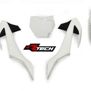 RTECH KTM 65 SX 2016-17 WHITE Plastic Kit