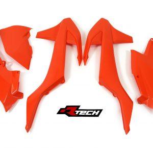 RTECH Full Orange 2017 EXC-EXC-F, 5Pcs Plastic Kit